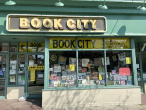Exterior of Book City on the Danforth